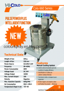 colo-660 powder coating machine catalogue