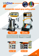 colo-800D powder coating machine catalogue
