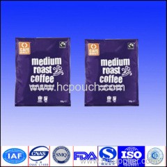 three side seal coffee pouch bags
