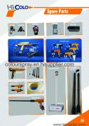 powder coating  parts catalogue