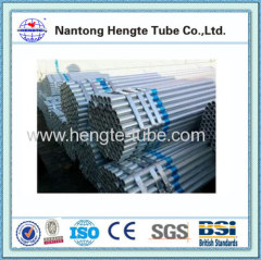 ASTM hot dip galvanized steel water pipe