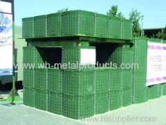 Perimeter security and defence walls welded mesh sand wall