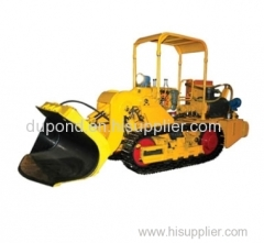 Full hydraulic side unloading coal mine loader