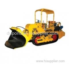 Full hydraulic side unloading coal mine loader