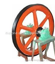 Mine winch mobile head sheave/mining winch