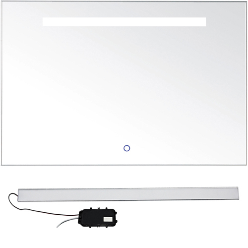 New technology lighting with blue lighting smart button