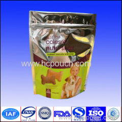 aluminum foil stand up pouch for pet food