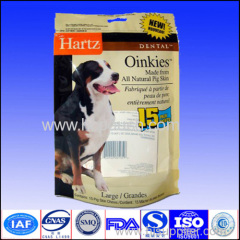 aluminum foil stand up pouch for dog food