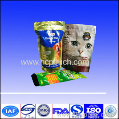 250g aluminium foil packaging pouch for cat food
