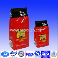 customized coffee package bags