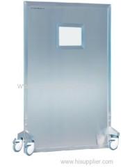 single type mobile lead shielded screens