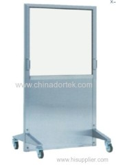 mobile x-ray screens with lead glass window