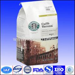 brown paper coffee package