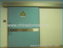 manual non hermetic sliding type lead shielded doors