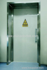 manual swing lead lined doors for x-ray rooms