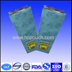 coffee plastic package with valve