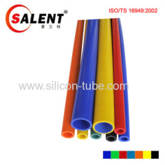 SALENT High temperature 4-Ply Reinforced 1/4 Straight Silicone Hose Coupler Red / Black / Blue ( 3 feet and 1 m Length)