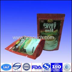 custom plastic coffee package