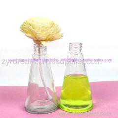 Clear Beverage Glass Bottle