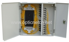 Indoor Fiber Optic Distribution Box ( 24 fibers)