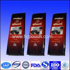 side gusset coffee packaging