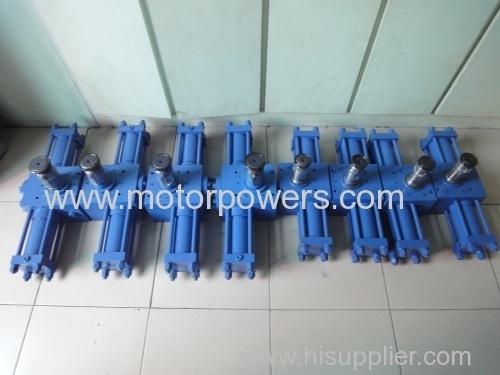 hydraulic actuator rotation cylinder