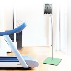 Universal Gooseneck Tablet Floor Stand iPad Holder
