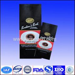 printed packaging coffee bag