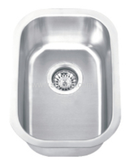 commercial undermounted sink bowl