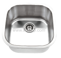 European standard undermount sink