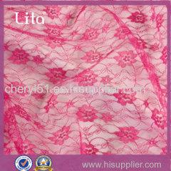 cheap polyester lace fabric beautiful design