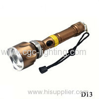 CGC-D13 New design and high power Rechargeable CREE LED Flashlight