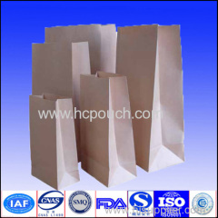 kraft paper coffee package with window