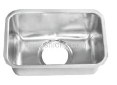 undermount single sink bowl