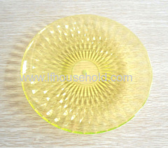 plastic fruit plate candy plate small size dia20cm