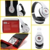 White beats studio headphone by dr dre