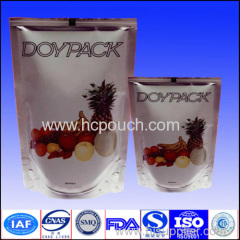 juice stand up pouch