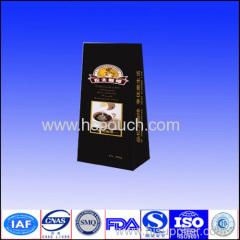 side gusset kraft paper coffee package