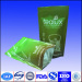 kraft stand up pouch with zipper