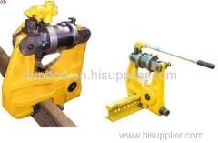 Mining raiway Hydraulic punching machine