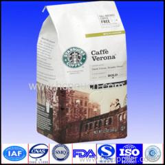 plastic coffee package bags