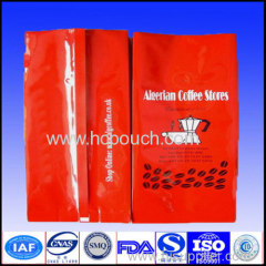 plastic coffee packaging pouch