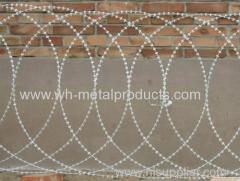 flat wrap razor wire coil OD 500mm 600mm 700mm 900mm