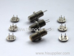 connectors hermetic glass metal