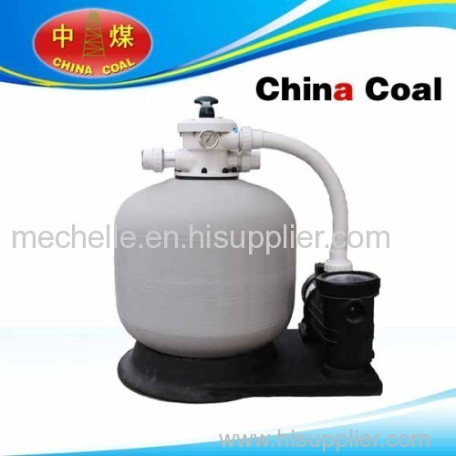 Top and side-mount sand filter