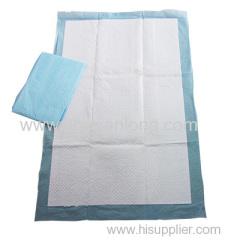 Underpads PP nonwoven+PE Film+Tissue+Fluff