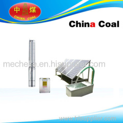 DC solar submersible water pump