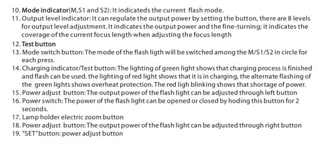 RUIBO camera flash light speedlite flash gun for both Canon and Nikon JN-410