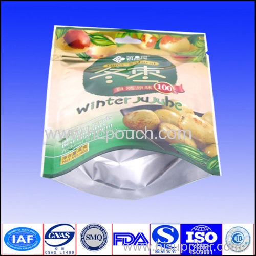 stand up fruit packaging bag