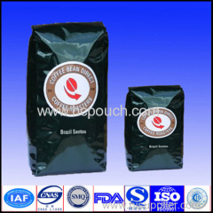 printing kraft paper package for coffee beans